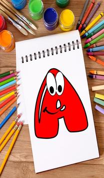 Coloring Book for Kids: Learning ABCD screenshot 11