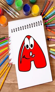 Coloring Book for Kids: Learning ABCD screenshot 1