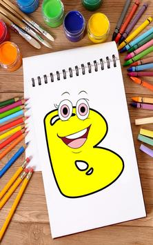 Coloring Book for Kids: Learning ABCD screenshot 7