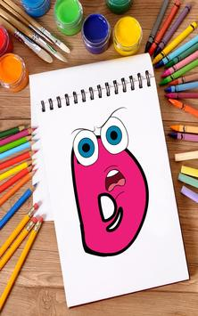 Coloring Book for Kids: Learning ABCD screenshot 9