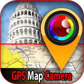 GPS Maps Camera Location With Picture icon