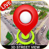gps maps - live street view & telefoon tracker-icoon
