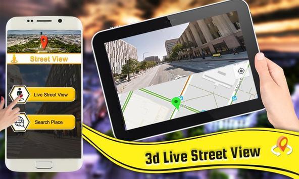 gps maps - live street view & telefoon tracker-poster