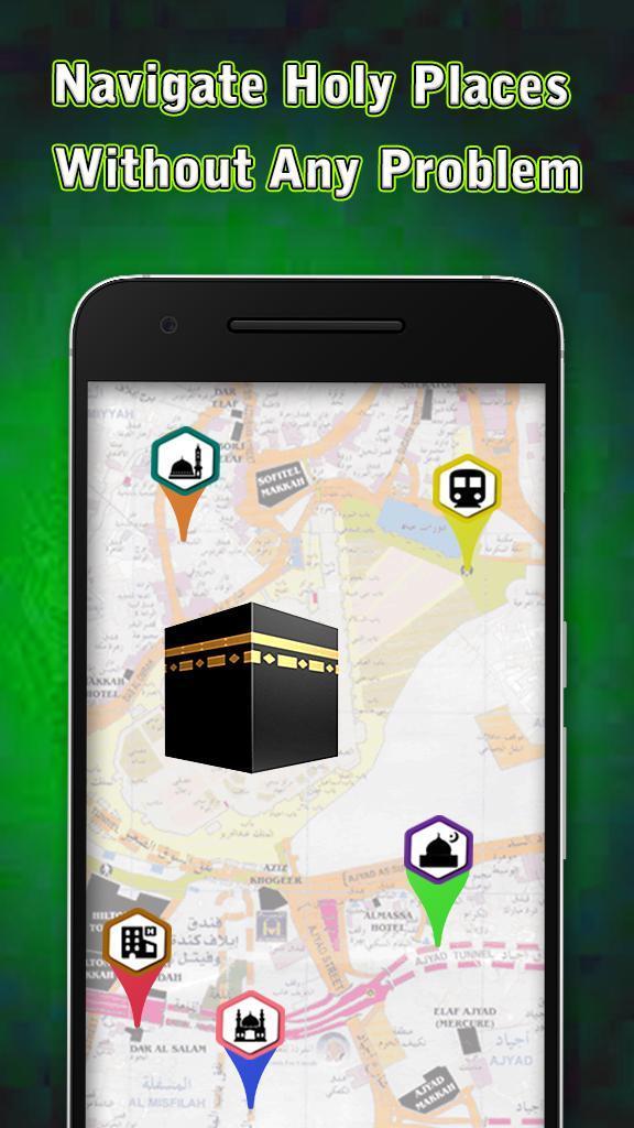 Madina Locator & Hajj GPS Maps: Hajj & Umrah Guide for