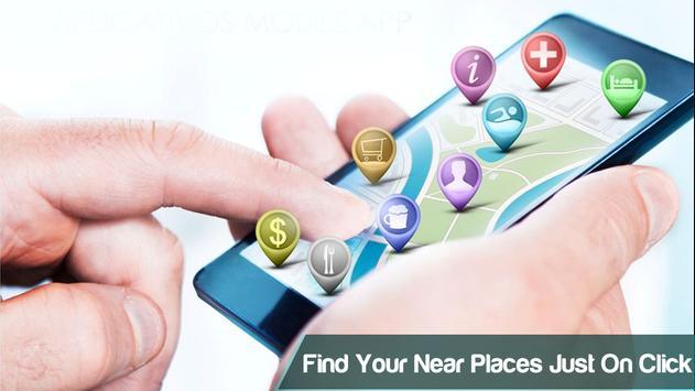 GPS Navigation & Map Tracker apk screenshot