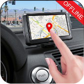Offline GPS Route Map icon