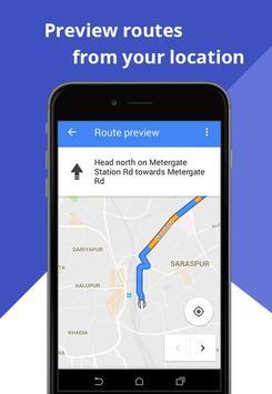GPS GO: Route Finder screenshot 4