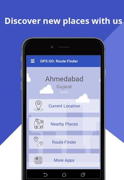 GPS GO: Route Finder poster