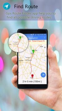 GPS Route Finder Navigator Live poster