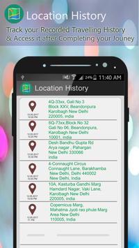GPS Route Finder Navigator Live screenshot 2