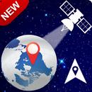 GPS-satellietkaarten: spraak-GPS en live Street Vi-APK