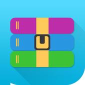 Unzip File Zip Rar 7z icon