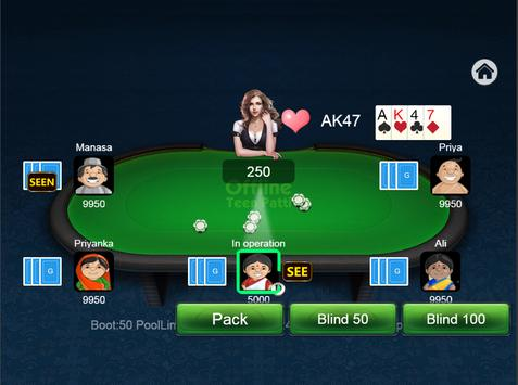 Teen Patti Offline screenshot 10