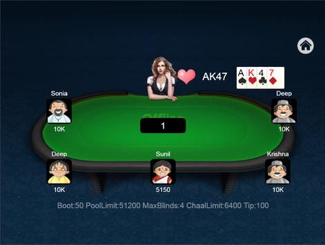 Teen Patti Offline screenshot 15
