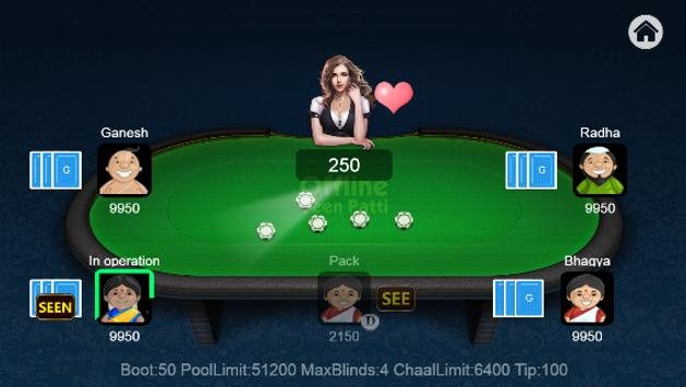 Teen Patti Offline screenshot 2