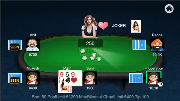 Teen Patti Offline screenshot 4