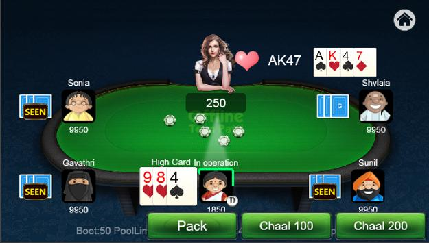 Teen Patti Offline screenshot 5