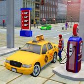 City Taxi Driver Cab Sim 2018 Pick & Drop Game icon