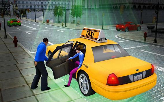 City Taxi Driver Cab Sim 2018 Pick & Drop Game screenshot 6
