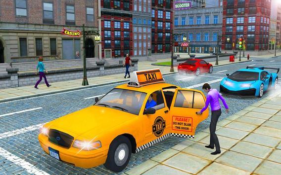 City Taxi Driver Cab Sim 2018 Pick & Drop Game screenshot 10