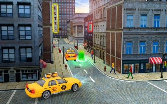 City Taxi Driver Cab Sim 2018 Pick & Drop Game screenshot 12