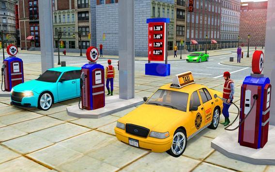 City Taxi Driver Cab Sim 2018 Pick & Drop Game screenshot 14