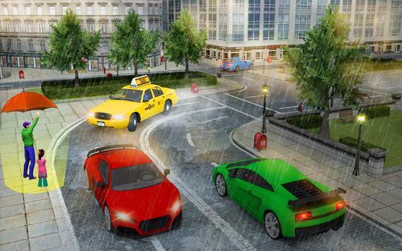 City Taxi Driver Cab Sim 2018 Pick & Drop Game screenshot 1