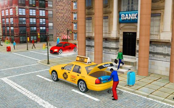 City Taxi Driver Cab Sim 2018 Pick & Drop Game screenshot 2