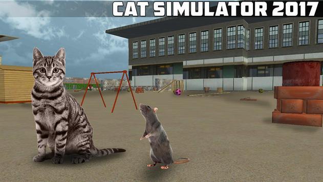 Cat Simulator 2017 poster