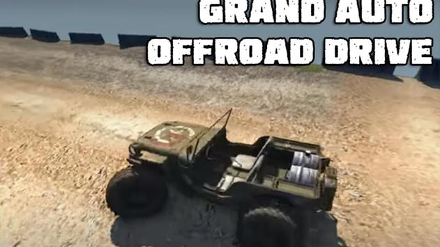 Grand Auto Offroad Drive poster