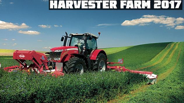 Harvester Farm 2017 poster