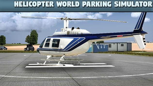 Helicopter World Parking poster