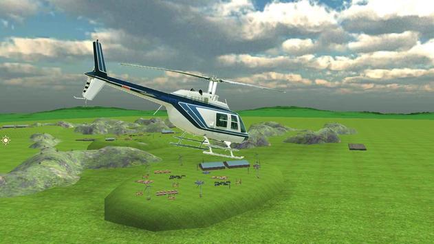 Helicopter World Parking screenshot 1