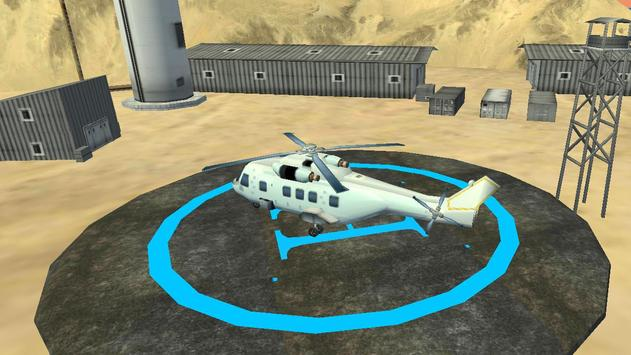 Helicopter Simulator 2017 Free screenshot 7