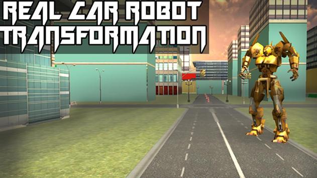 Real Car Robot Transformation poster