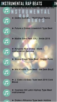 Instrumental rap Beat screenshot 2