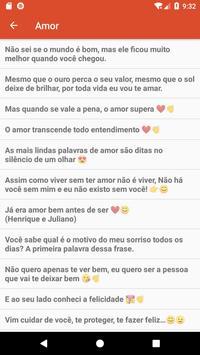 Mensagens e Frases de Amor - Top Frases स्क्रीनशॉट 1