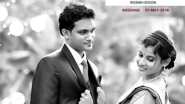 Rosmi Dixon Wedding poster