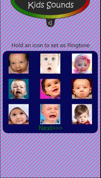Kids Sounds - Baby Voices poster