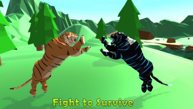 Wild Tiger Jungle Simulator 2018 screenshot 7