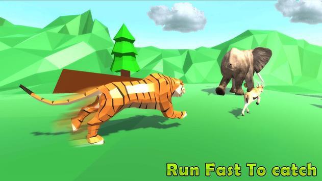 Wild Tiger Jungle Simulator 2018 poster
