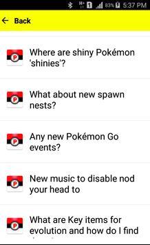 Guide for Pokemon-GO Gen 2 poster