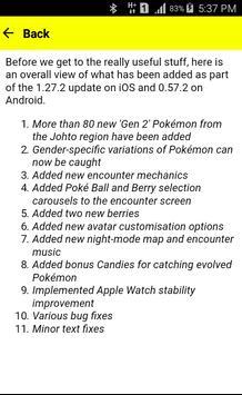 Guide for Pokemon-GO Gen 2 screenshot 1