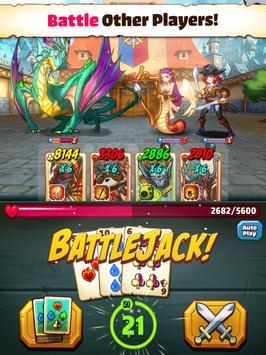 Battlejack: Blackjack RPG apk تصوير الشاشة