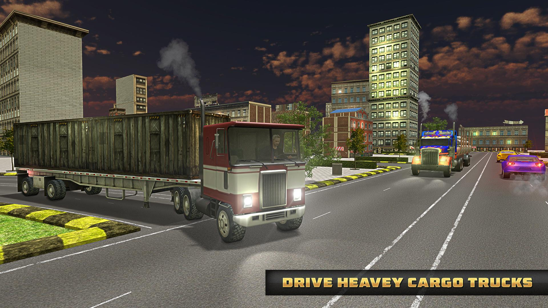 Euro Truck Driver Simulator 2019: Free Truck Games for