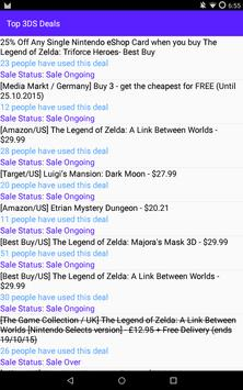 Top 3DS Deals screenshot 3