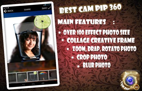 New Cam PIP 360 apk screenshot