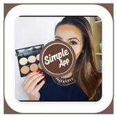 Makeup Tutorial Contouring icon