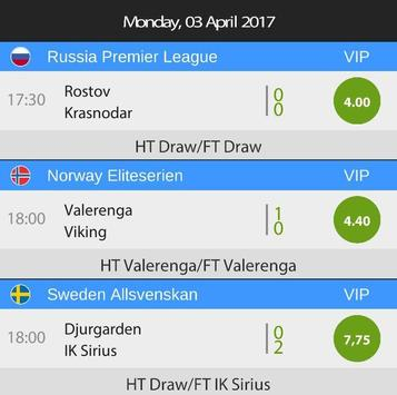 Betting Tips HT FT apk screenshot