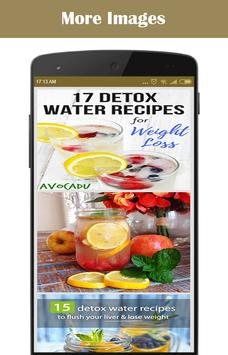 Detox Water Drinks Recipes poster